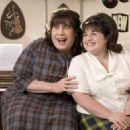 "John Travolta (left) stars as ""Edna Turnblad"" and Nikki Blonsky (right) stars as ""Tracy Turnblad"" in New Line Cinema's upcoming release of Adam Shankman's HAIRSPRAY. Photo Credit: ©2007 David James/New Line Cinema"