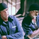 Steven Seagal and Ja Rule in Columbia's Half Past Dead - 2002