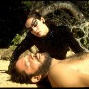 Sonia Braga as Spider Woman and Raul Julia as Valentin Arregui in City Lights Pictures' Kiss of the Spider Woman.