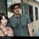 Michelle Williams and Wim Wenders