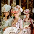 Kirsten Dunst (center, as Marie-Antoinette) in Sofia Coppola drama biography 'Marie Antoinette' 2006