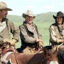 Button (Diego Luna, left) and Mose (Abraham Benrubi, right) are the younger half of the freegrazing foursome.