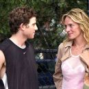 David (Bryan Greenberg) and Rafi (Uma Thurman) learn to enjoy each others varied interests - Prime (2005)