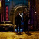 The Punisher (Ray Stevenson) and Paul Budiansky (Colin Salmon) stars in Lionsgate crime drama thriller 'Punisher: War Zone.' - 454 x 255