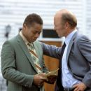 Cuba Gooding Jr. and Ed Harris in Radio - 2003