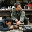Michael Pena as Nick Memphis and Mark Wahlberg as Bob Lee Swagger in Paramount Pictures' Shooter - 2007. Photo Credit: Kimberley French