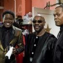 Bernie Mac, Isaac Hayes and Samuel L. Jackson star in Malcolm D. Lee's SOUL MEN. Photo by: Doug Hyun/Dimension Films, 2008.