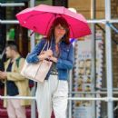 Helena Christensen – Out and about in New York City