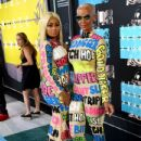 Blac Chyna and Amber Rose Attend the 2015 VMA Awards at the Microsoft Theater in Los Angeles, California - August 30, 2015 - 433 x 600
