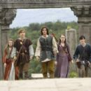 Georgie Henley, William Moseley, Ben Barnes, Anna Popplewell and Skandar Keynes in the scene of Walt Disney Pictures' THE CHRONICLES OF NARNIA: PRINCE CASPIAN.