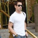 Colin Farrell Steps Out of His Hotel in New York