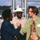 Eddie Griffin and D.J. Qualls in Columbia's The New Guy - 2002
