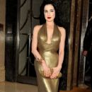 Dita Von Teese: heads to an event being held at The Arts Club
