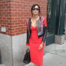 Padma Lakshmi Leaves Her Apartment In Ny