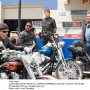 (left to right) John Travolta, Martin Lawrence, William H. Macy and Tim Allen in Wild Hogs. Photo credit: Lorey Sebastian. © Touchstone Pictures. All right reserved.