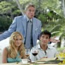 Molly (Kate Hudson) and Carl (Matt Dillon) celebrate their wedding with Molly's Dad, Mr. Thompson (Michael Douglas)