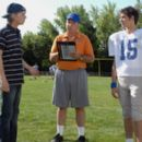 Virgil and Derek at football tryouts freshman year - the day of the incident.