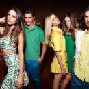 Martin Mica, Thairine Garcia, Erin Heatherton, Izabel Goulart, Diego Miguel for Colcci Spring/Summer 2014 Ad Campaign - 454 x 303