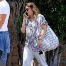Drew Barrymore – Leaving Matsuhisa in Beverly Hills