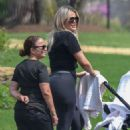 Khloe Kardashian in Tights out in Cleveland - 454 x 683