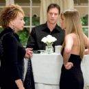 """Shirley MacLaine and Jennifer Aniston in Warner Bros. Pictures' and Village Roadshow Pictures' romantic comedy """"Rumor Has It,"""" distributed by Warner Bros. Pictures. Photo by Melissa Moseley"""