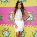 Khloe Kardashian: arrives at Nickelodeon's 26th Annual Kids' Choice Awards at USC Galen Center in Los Angeles