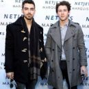 Jonas Brothers at Pre-Superbowl Party