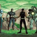 B Panther and group in Ultimate Avengers 2: Rise of the Panther - 2006