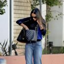Jordana Brewster Street Style – Out in Los Angeles 11/4/ 2016 - 454 x 681