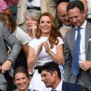 Geri Halliwell – Wimbledon Tennis Championships 2019 in London - 454 x 564
