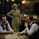 "From Left to Right: Eddie Marsan (""James 'Tish' Corbitt""), Juliet Stevenson (""Annie Pierrepoint"") and Timothy Spall (""Albert Pierrepoint"") in a scene from PIERREPOINT directed by Adrian Shergold. An IFC Film"