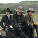 Taylor Handley as Micah, Jon Voight star as Jacob and Trent Ford as Jonathan in September Dawn