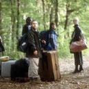 Tim McInnerny, Babou Ceesay, Andy Nyman, Claudie Blakely, Laura Harris and Danny Dyer in SEVERANCE, a Magnolia Pictures release. Photo courtesy of Magnolia Pictures. - 454 x 297