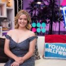 Sasha Pieterse – Visits the Young Hollywood Studio in LA - 454 x 302