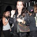 Kyle Richards night out in LA - 454 x 745
