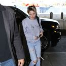 Kristen Stewart – Arrives at LAX International Airport in LA