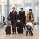 Nikki Reed and Ian Somerhalder – Arriving in Toronto - 454 x 444