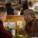 Christopher Walken and Morgan Freeman in THE MAIDEN HEIST, a Yari Film Group release. ©2008 Yari Film Group Releasing.