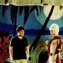 Filmmaker Pedro Almodovar (l) and Gael García Bernal as Angel/Juan/Zahara (r)