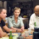 John Travolta, Connie Nielsen and Samuel L. Jackson in Columbia's Basic - 2003
