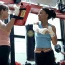 Nicole Ari Parker and Sanaa Lathan in Fox Searchlight's Brown Sugar - 2002