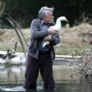 Philip Baker Hall star as Arthur take a stand in the pond. Photo credits by Mark Lampert