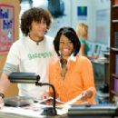 Corbin Bleu and Monique Coleman in HIGH SCHOOL MUSICAL 3 SENIOR YEAR.
