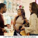 From left: Chris Rock, Kerry Washington and Gina Torres in I THINK I LOVE MY WIFE. Photo Credit: Phil Caruso