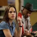 Hilary Swank as Maggie in Warner Bros. Pictures' drama Million Dollar Baby. The Malpaso production also stars Clint Eastwood and Morgan Freeman. Merie W. Wallace