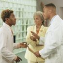 Cuba Gooding Jr., Nichelle Nichols and Sisqo in Disney's Snow Dogs - 2002
