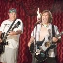 Jack Black as JB and Kyle Gass as KG  on the set of New Line Cinema ' new comedy, Tenacious D in: The Pick of Destiny - 2006