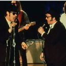 Dan Aykroyd and John Belushi in comedy movie The Blues Brothers