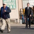 """(L-r) JACK NICHOLSON as Edward, SEAN HAYES as Thomas and MORGAN FREEMAN as Carter in Warner Bros. Pictures' comedy drama """"The Bucket List."""" Photo by Sidney Baldwin"""