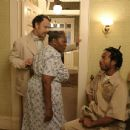 Tom Hanks, Irma P. Hall and Marlon Wayans in The Ladykillers - 2004